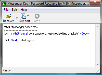 Forgot your IM Passwords?