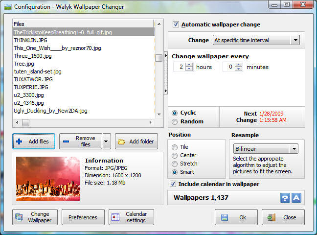free windows background wallpaper. Walyk Wallpaper Changer