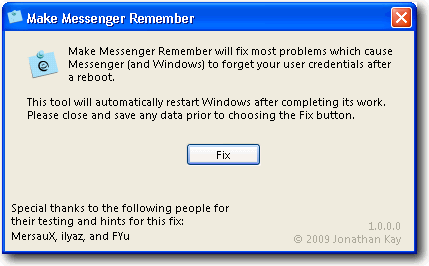 make-messenger-remember