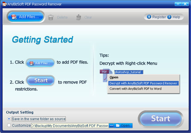 Remove Your PDF Password for Free
