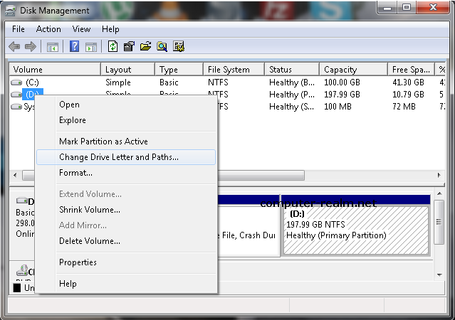windows xp assign drive letter to ftp