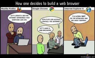 Internet Explorer Comic