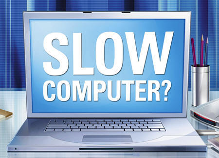 new computer so slow