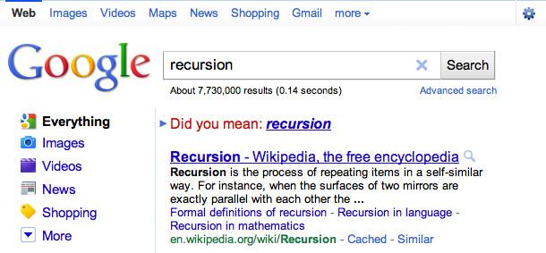 google_recursion