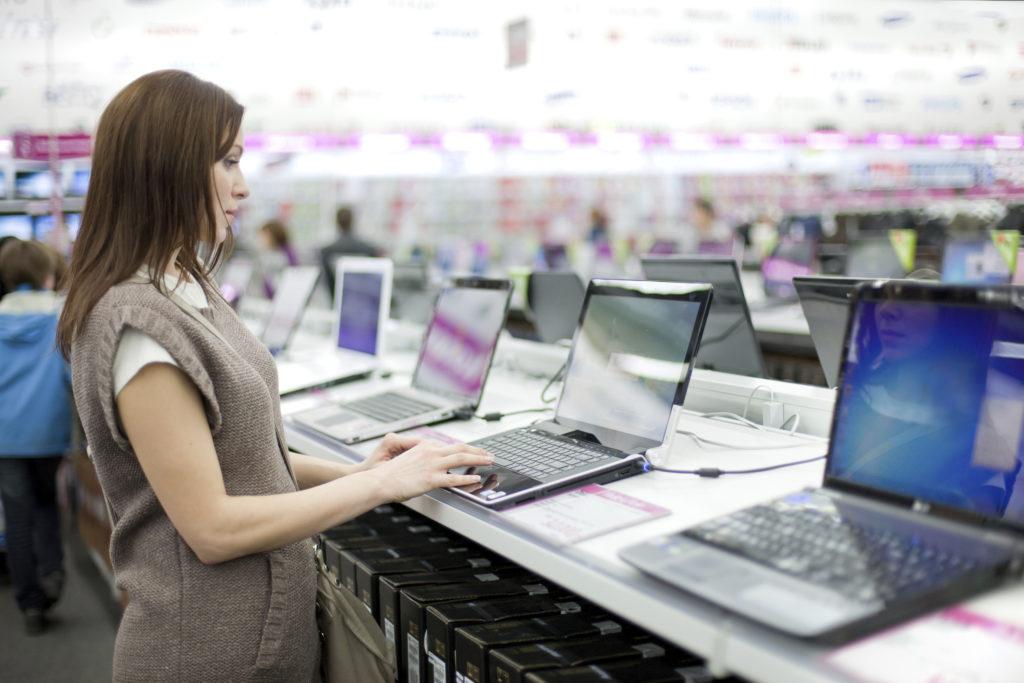 Laptop-Shopping