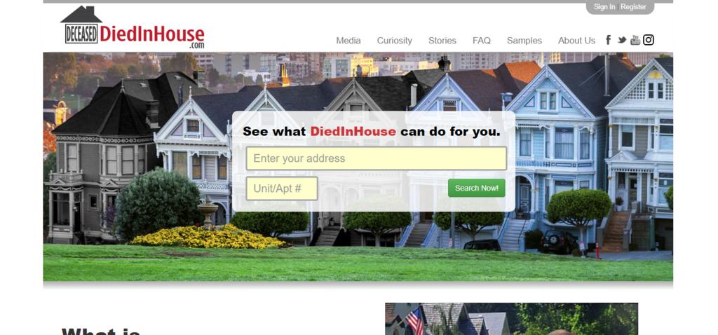 DiedInHouse.com