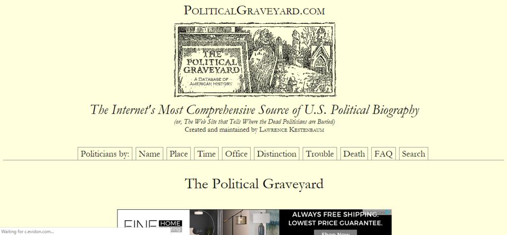 PoliticalGraveyard.com
