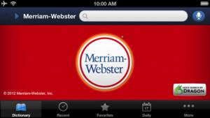 Merriam-Webster App